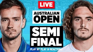🔴 MEDVEDEV vs TSITSIPAS | Australian Open 2021 | LIVE Tennis Play-by-Play