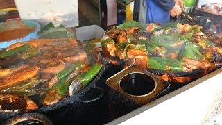 Delicious IKAN BAKAR- GRILLED FISH FEAST in Kuala Lumpur | Food and Travel Channel | Malaysia