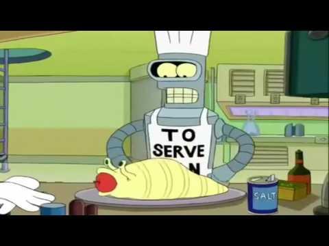 Bender cocinando parte 1