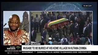 Reaction to decision to bury Mugabe in Zvimba: Prof. Everisto Benyera