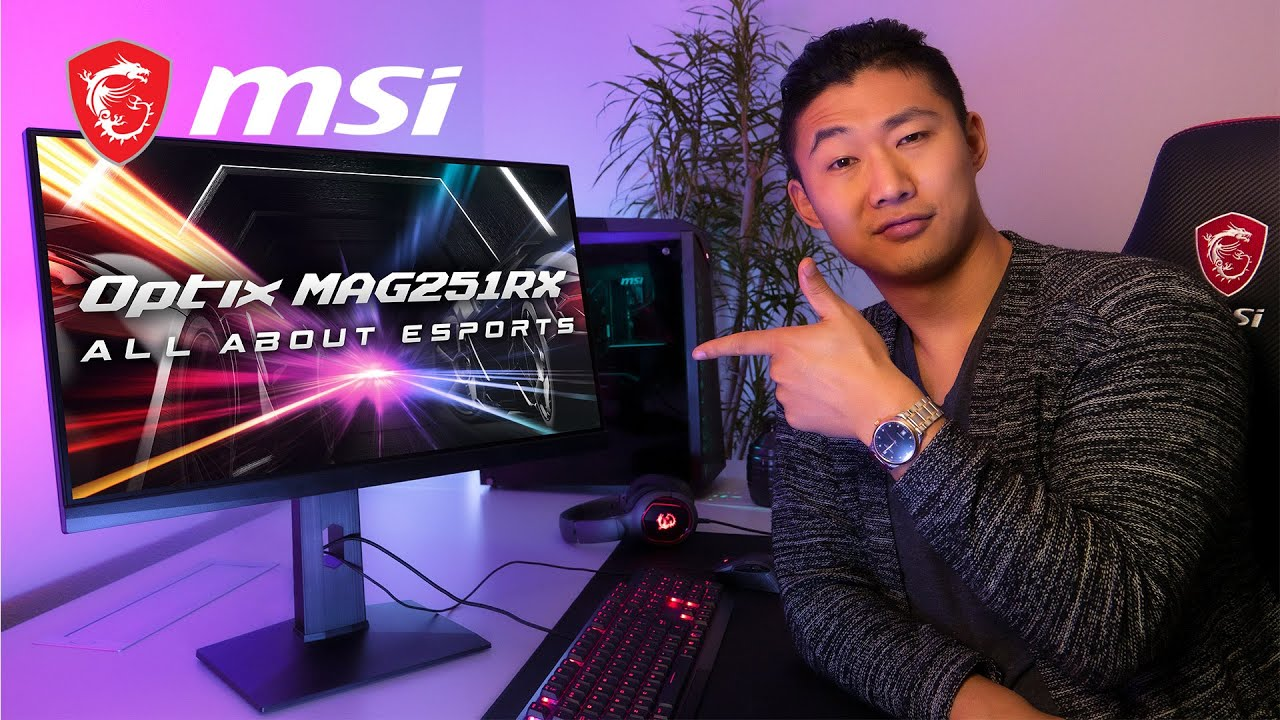 Play like an eSports Pro with the MAG251RX | MSI | Gaming Monitor