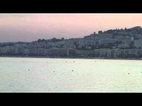 Nice, France - Baie des Anges - Bay of Angels