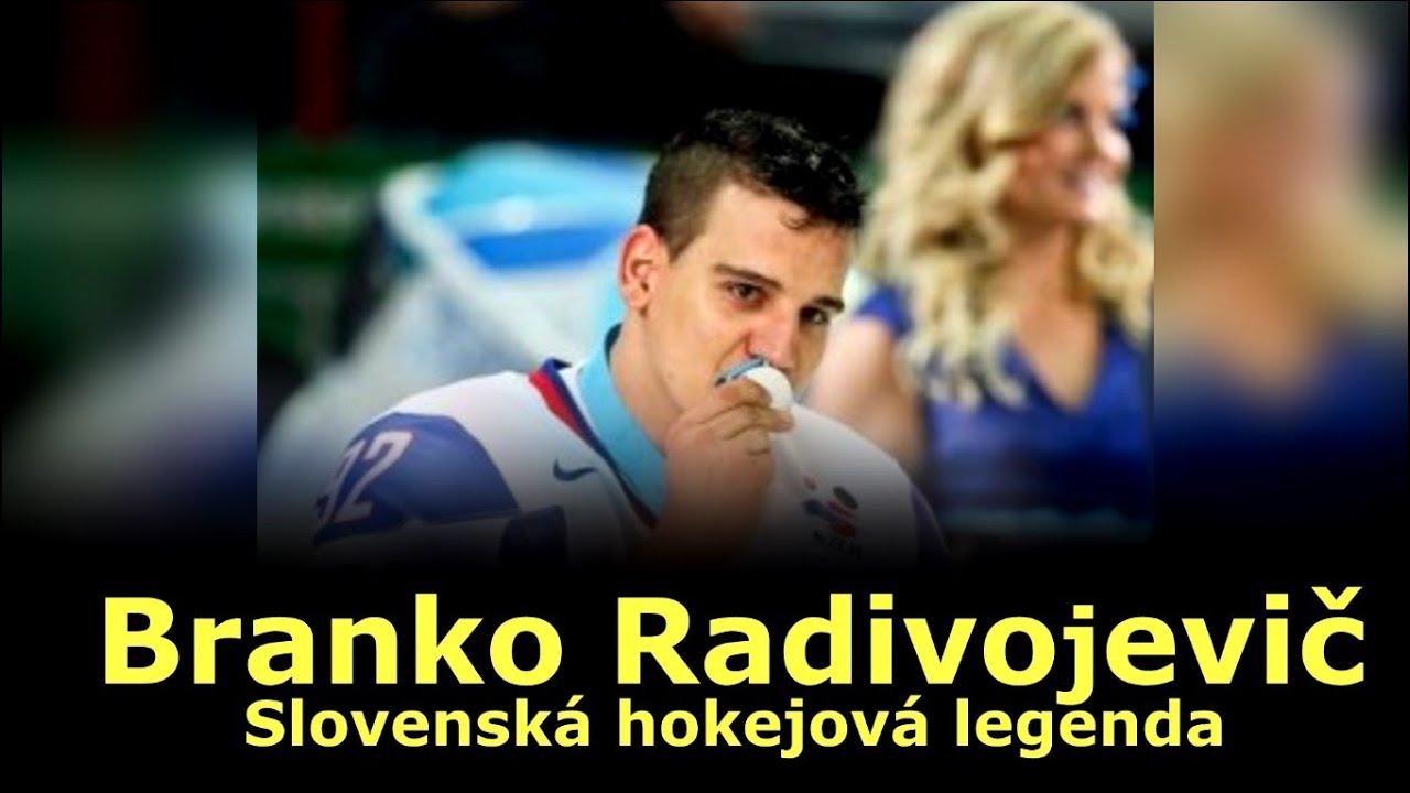 Slovenská hokejová legenda - Branko Radivojevič