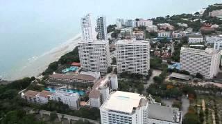Спуск с Тарзаки Отель Паттая Парк(Спуск со смотровой площадки отеля Паттая парк Pattaya Park с 55 этажа., 2014-07-27T16:50:53.000Z)