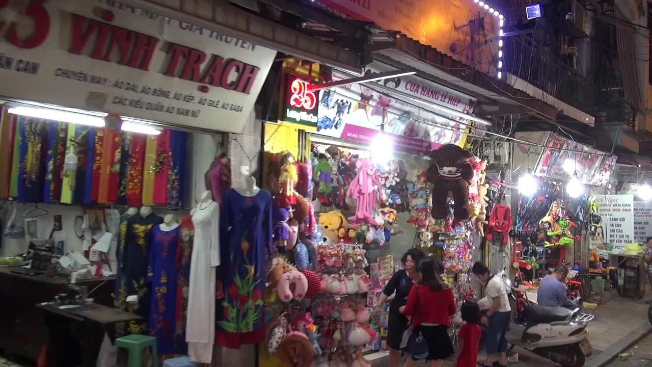 越南自由行 河內夜晚街道 MAH01110 - YouTube