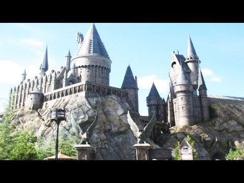 Harry Potter Hogwarts Castle Complete Forbidden Journey POV Universal Islands Of Adventure
