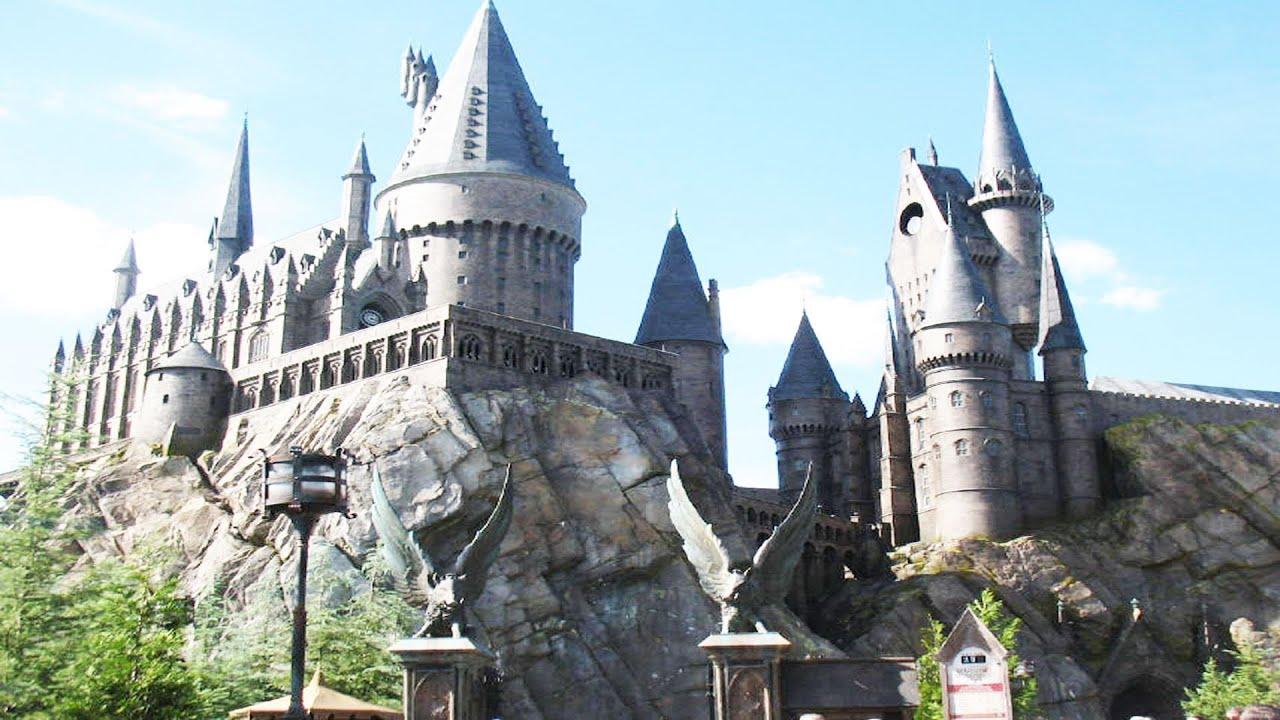 Harry Potter Hogwarts Castle Complete Forbidden Journey