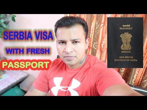 Travel SERBIA with fresh Passport ( HINDI-PUNJABI )