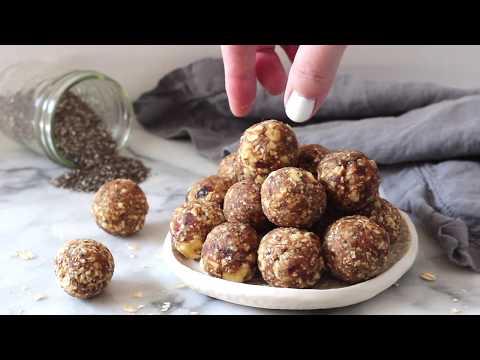 Apple Pie Energy Balls / Energy Bites