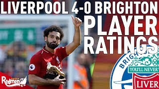 Salah, Mane & Robbo Get 10s! | Liverpool v Brighton 4-0 | Player Ratings