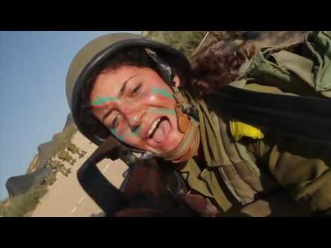 IDF Girls on Action - Israeli Army -