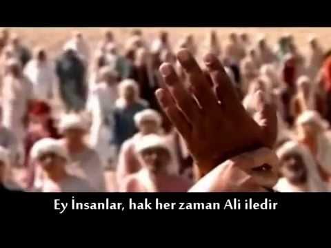 Gadir Hum da Peygamber Efendimizin Hz. Ali yi beyanı ve ilanı