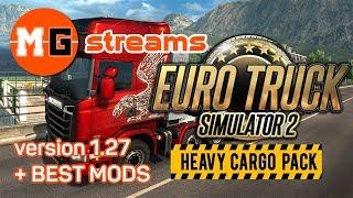 EURO TRUCK SIMULATOR 2 v1.27 - All DLCs + ProMods + RusMap - GAMEPLAY LIVESTREAM #72