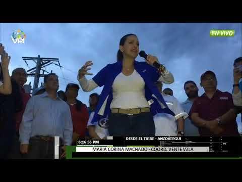 Venezuela - María Corina Machado visitó  Anzoátegui - VPItv