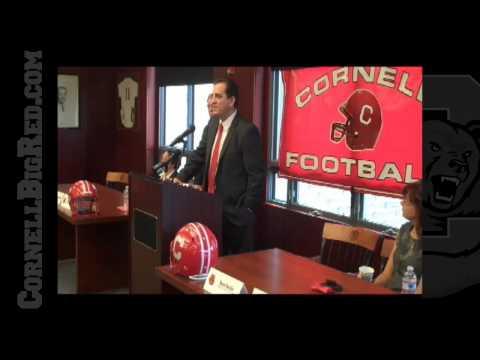 Cornell Introduces Kent Austin As Head Football Co...