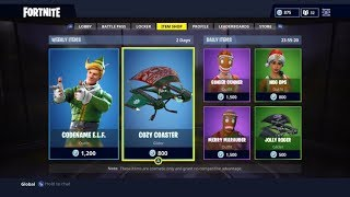 THEY are FINALLY OF RETOUR on FORTNITE. (Christmas Skins)