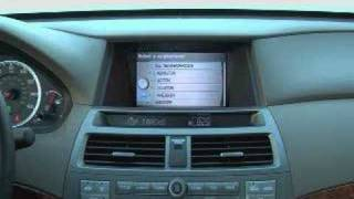 2008 Honda Accord Interior Navigation Video