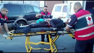 Herido de bala en Swap Meet Las Carpas