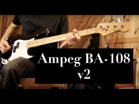 Ampeg BA 108 v2 Bass Combo Demo