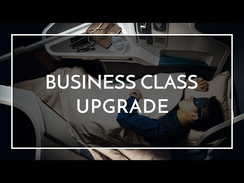Business Class Upgrade with Cathay Pacific