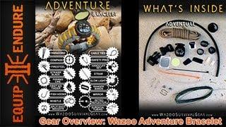 Gear Overview: Wazoo Survival Bracelet By Equip 2 Endure