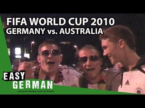 Fifa World Cup 2010: Germany Vs. Australia   Easy German 13