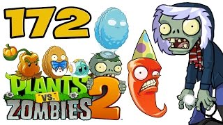 ч.172 Plants vs. Zombies 2 - Frostbite Caves - Day 1