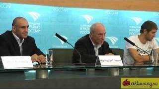 Dmitry Pirog vs. Gennady Martirosyan. Face to face. Video.