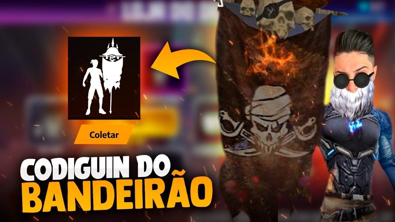 🚩CODIGUIN DO BANDEIRÃO CHEGOU ! FT APELAPATO !! LOUD MEGA!! SOLO RANKED!🔴FREEFIRE AO VIVO - LIVE