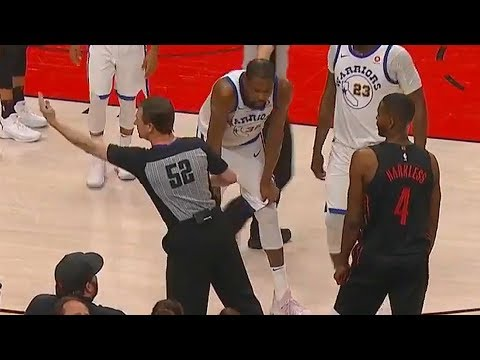 Kevin Durant Gets Fan Ejected for Trash Talking Him (VIDEO)