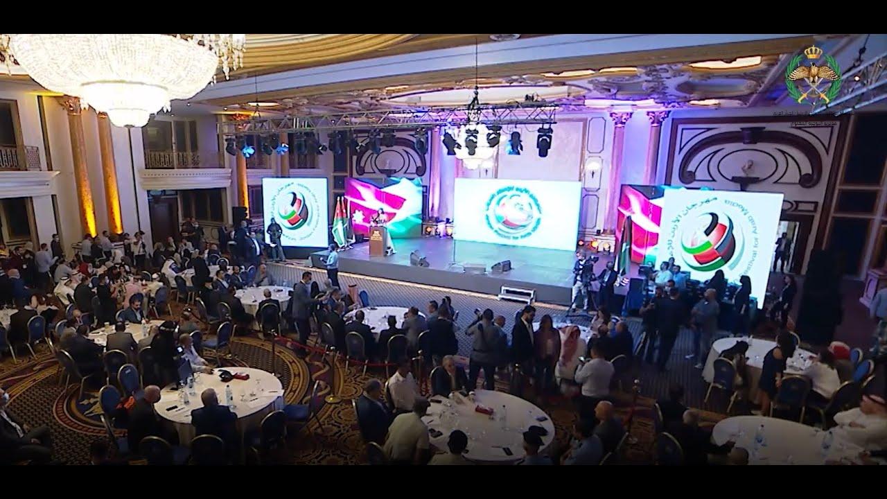 القوات المسلحة ممثلة بمديرية التوجيه المعنوي تحصل على المركز الأول في مهرجان الأردن للإعلام الأمني