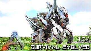 ARK: SURVIVAL EVOLVED - MYTH KING KONG GENERAL MEGAPITHECUS E104 !!! ( ARK EXTINCTION CORE MODDED )