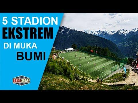 LUAR BIASA!!! 5 Stadion Sepakbola Terekstrem Yang Pernah Ada Di Muka Bumi