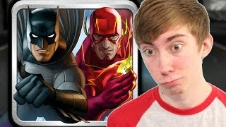 BATMAN & THE FLASH: HERO RUN (iPad Gameplay Video)