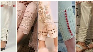 Top 50 Beautiful And Latest Trouser Designs For Girls 2019-2020