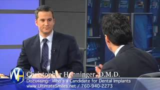 Dr. Henninger Appears on The Wellness Hour to Discuss Dental Implants in Vista, CA