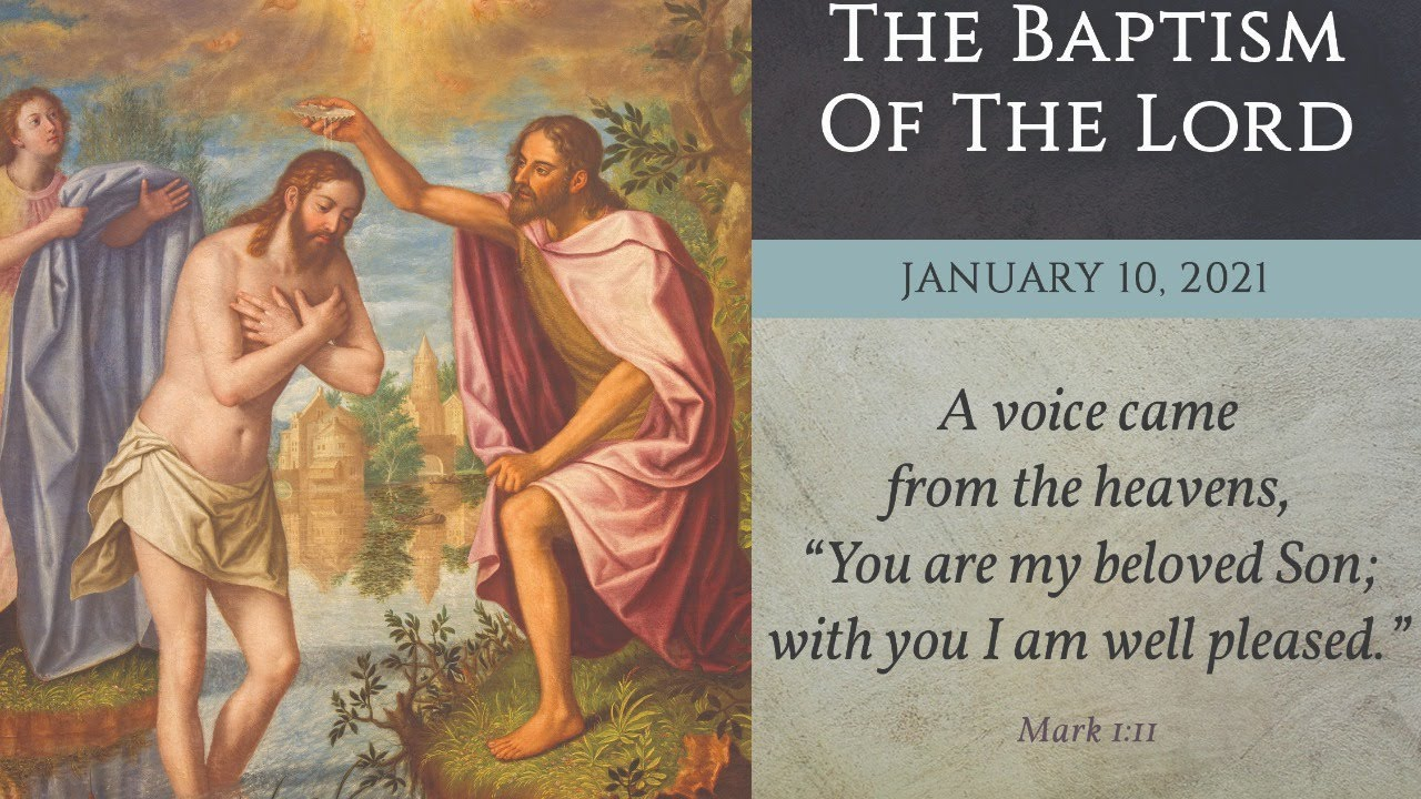 10 January 2021, The Baptism of the Lord Sunday Mass - 10 AM - YouTube