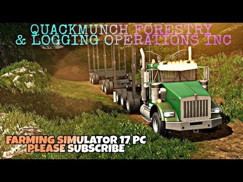 Farming Simulator 17 PC - Jade Mountain FDR Forestry Operations Map