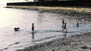 Repeat youtube video FILIPINO KIDS PLAYING IN MANILA BAY