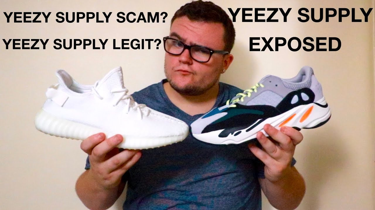 f7fab51b6 WATCH THIS BEFORE YOU BUY FROM YEEZY SUPPLY!!!  BUYER BEWARE  - YouTube