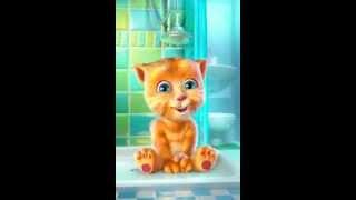 Сказка от котенка рыжика - два веселых гуся