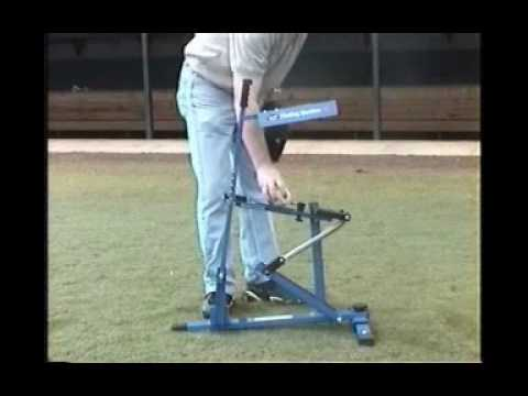 The Blue Flame Ultimate Pitching Machine