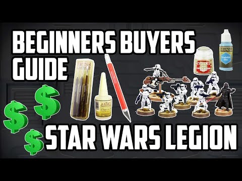 Star Wars Legion - Beginners Buyers Guide - Equipment, Models & Paints