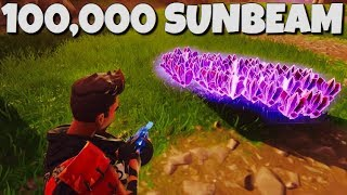How To Get 100,000 Sunbeam !! DUPLICATION GLITCH Fortnite Save The World