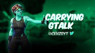 | Carrying GTALK | TOP NO-SKIN!  | *INSANE* 14 Kill Squad Win | (Fortnite Battle Royale)