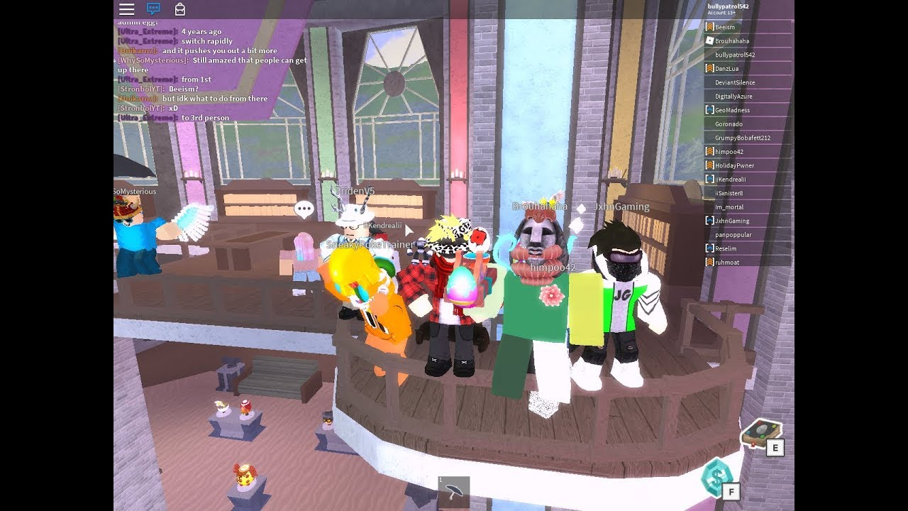 Roblox I Met Brouhahaha And Beeism And Got The Eggmin 2018