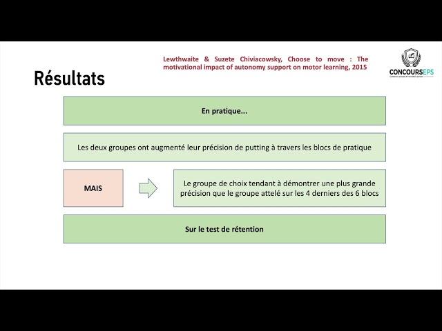 Quels sont les avantages de la pratique auto-contrôlée sur l'apprentissage moteur ?