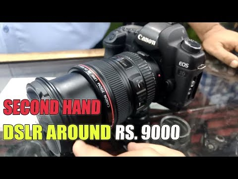 Second Hand DSLR Market | Hyderabad | Buy DSLR in Cheap Price