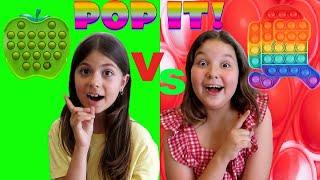 POP IT CHALLENGE !! ΜΟΝΟΧΡΩΜΟ vs ΧΡΩΜΑΤΙΣΤΟ POP IT ! Ποιος Θα Βρει τα Περισσότερα !