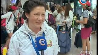 Белоруски вернулись в Минске в ранге чемпионов Европы по хоккею на траве в дивизионе «Троффи»